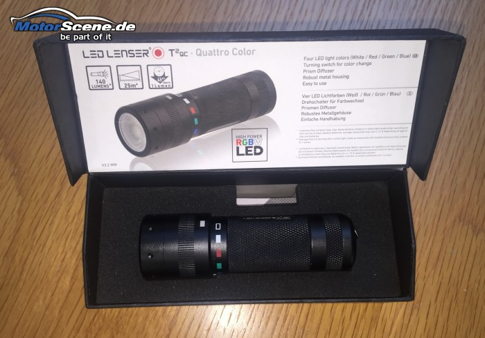 LED LENSER® T2 QC