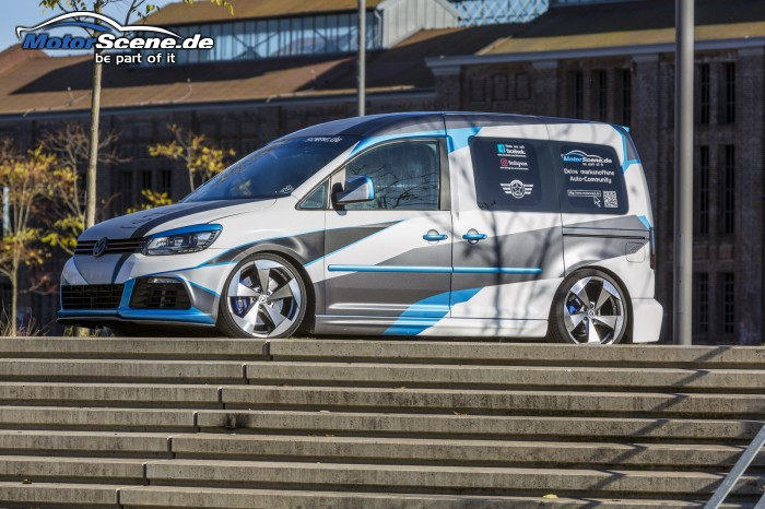 MotorScene Caddy mit Tomason TN16