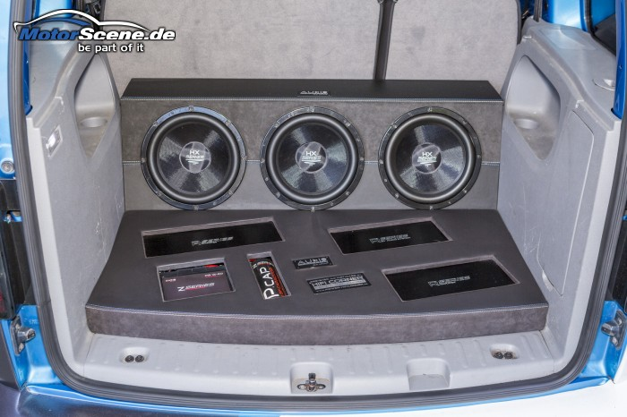 Audio System Umbau