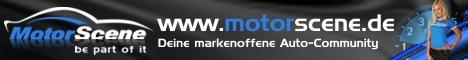 MotorScene ist eine kostenlose Web 2.0 Community für Auto, Tuning und Motorsport. Dabei spielt es keine Rolle, ob dein Auto Serie ist, du Carstyling Fan bist, nur auf Car-Hifi stehst, einen Youngtimer oder Oldtimer fährst, oder die Nordschleife und andere Rennstrecken dein zweites Zuhause nennst. Auch welche Marke du fährst ist egal, hier sind alle Fabrikate vertreten und willkommen, MotorScene ist eine markenoffene Auto-Community für jeden der sich mit dem Thema Auto beschäftigt.