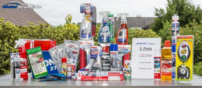 SONAX Autopflege Pflegeset
