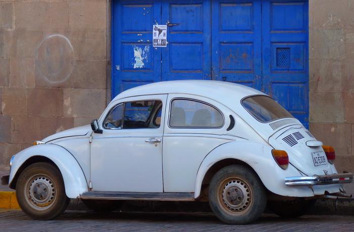 Der VW K�fer l�uft und l�uft und l�uft�